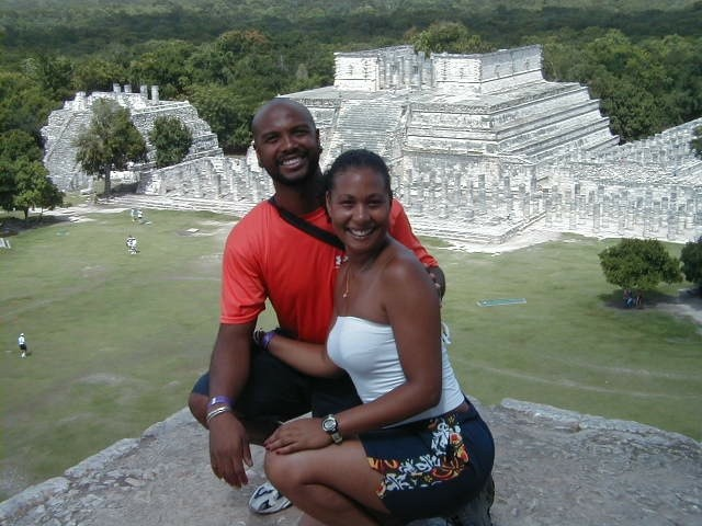 The couple actually met in Nashville, at a National Association of Independent Schools for People of Color conference in 2000.