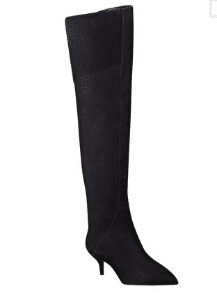 "<font size=""2""><span style=""font-size:10pt;"">If you're worried about rocking a heel on icy surfaces, this kitten style is perfect. Nine West Heelium  Boots ($69.99; ninewest.com)</span></font>"