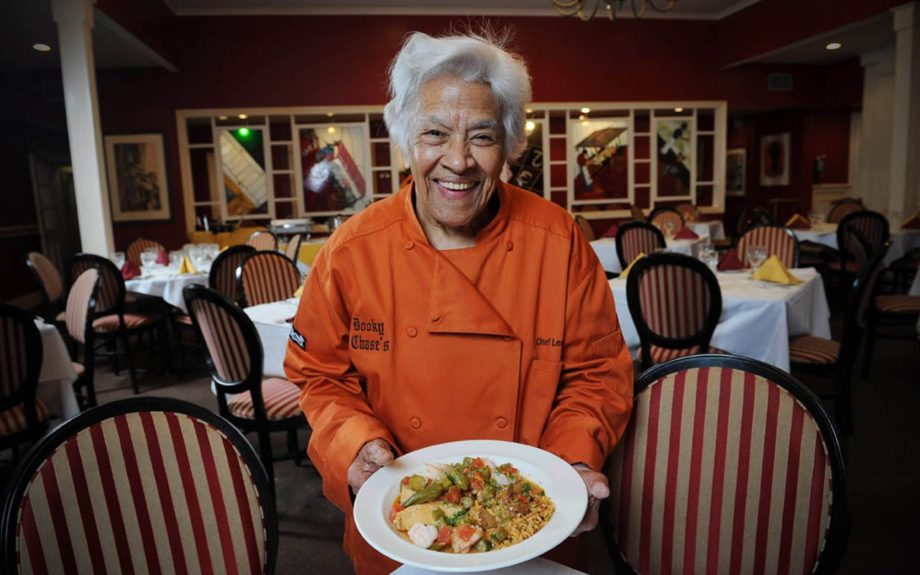 "3. Chef Leah Chase, known as the ""Queen of Creole Cuisine,"" served as inspiration for Princess Tiana in Disney's The Princess and the Frog.  	Photo Credit: Cheryl Gerber"