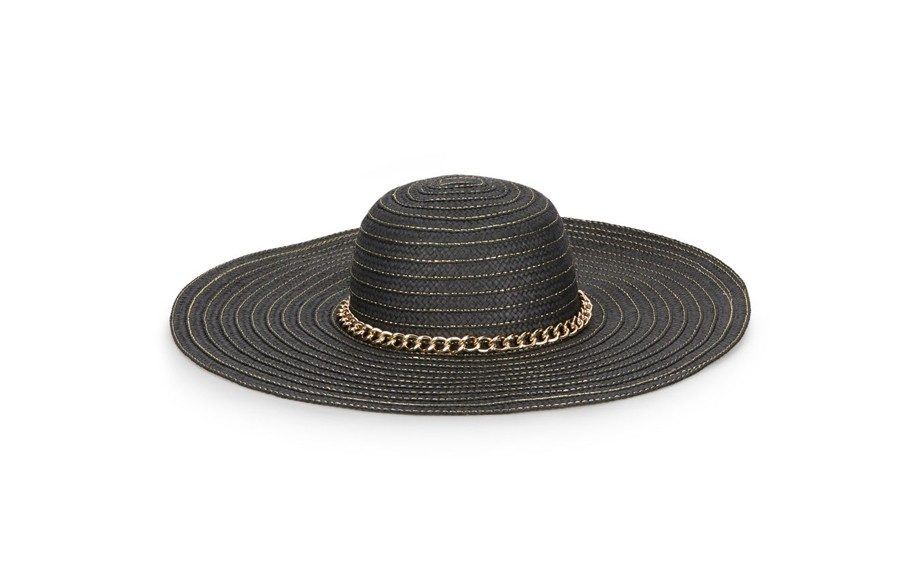 If you're spending time out in the sun, make sure you cover up in this Ivanka Trump Topstitched Raffan Floppy Hat, $58,