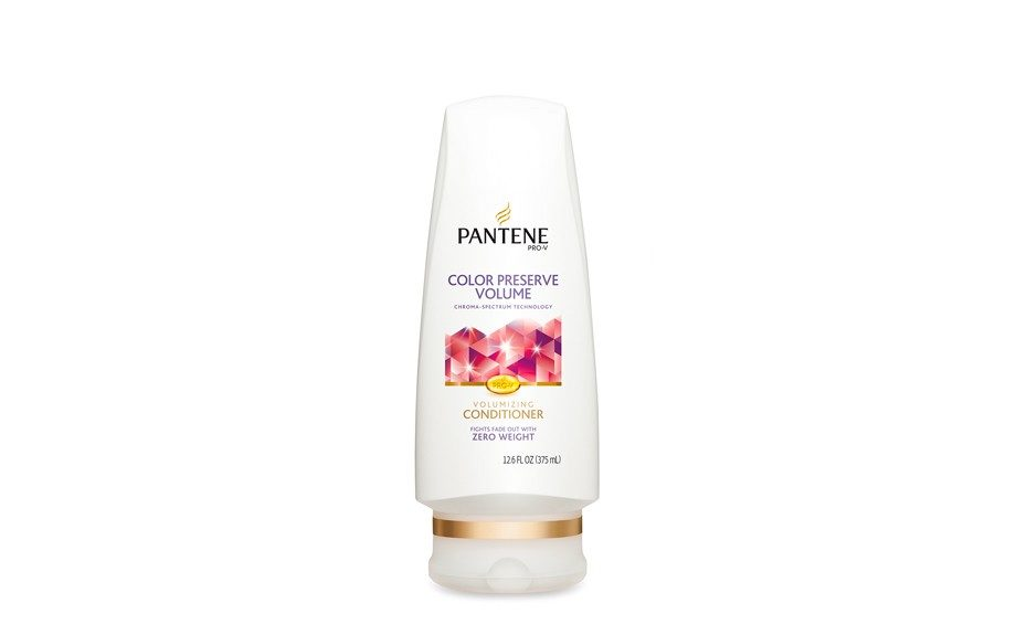 "Preserve color and add volume with this Pantene Pro-V Color Preserve Volume Conditioner that conditions without adding weight. $4.99, <a href=""http://www.pantene.com/en-US/hair-care-products/product/Color-Preserve-Volume-Conditioner.aspx?UPC=080878042364"" target=""_blank"">Pantene&"