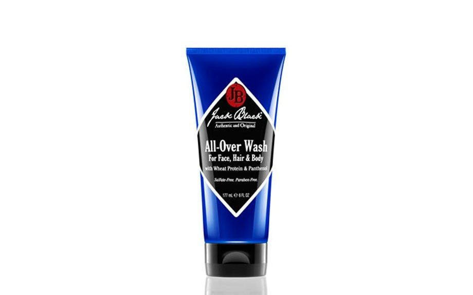 "One product for your hair and body? You bet. All of sudden, you've got more room in your gym bag. Thank <a href=""http://www.getjackblack.com/Products/All-Over-Wash-for-Face--Hair-and-Body-with-Wheat-Protein-and-Panthenol__4007O.aspx"" target=""_blank"">Jack Black's All Over Wa</a>"