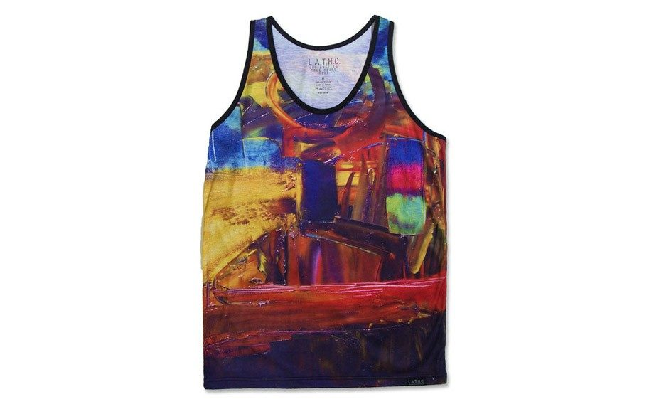 "Printed Colorful Tank - <a href=""http://www.latreehouseclub.com/"" target=""_blank"">LATreeHouse Club</a> 32.00"