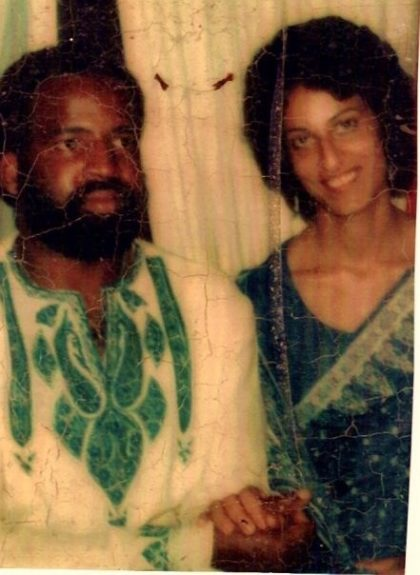 Truitt and Behin White, Ruha's parents, had a whirlwind romance of their own. They married after a month of knowing each other and remained married for almost 40 years.