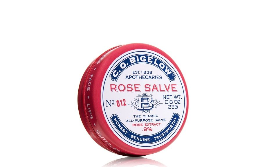 "C.G Bigelow's Rose Salve is perfect for winter-worn lips. $5.50, <a href=""http://www.bathandbodyworks.com/product/index.jsp?productId=2726822"">www.bathandbodyworks.com</a>."