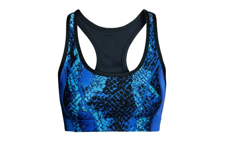 """<strong>H&M Animal Print Sports Bra ($20,<a href=""""http://www.hm.com/us/product/21967?article=21967-A#article=21967-A"""" target=""""_blank"""">hm.com</a>)</strong>"""