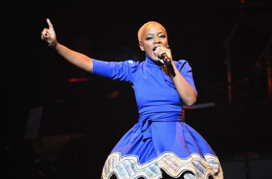 Kimberly Nichole performs at the10thannualApollo Spring Gala