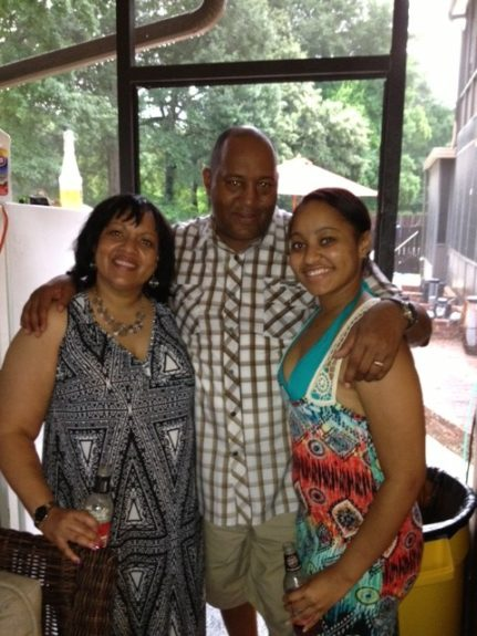 """<strong>Mr. & Mrs. Smith and their oldest.</strong> """"When you have children you extend that into anything you do."""""""