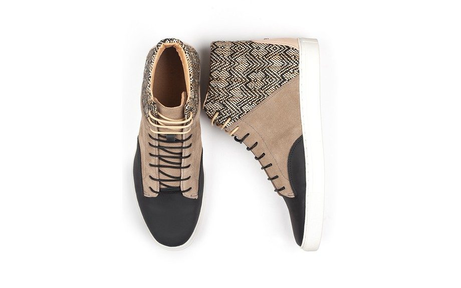 """<strong>Wear them to work on casual Friday.</strong><a href=""""http://shop-thorocraft-com.myshopify.com/products/the-porter-dark-sand"""" target=""""_blank""""> ThorocraftHigh Top in 'The Porter', $160.</a>"""