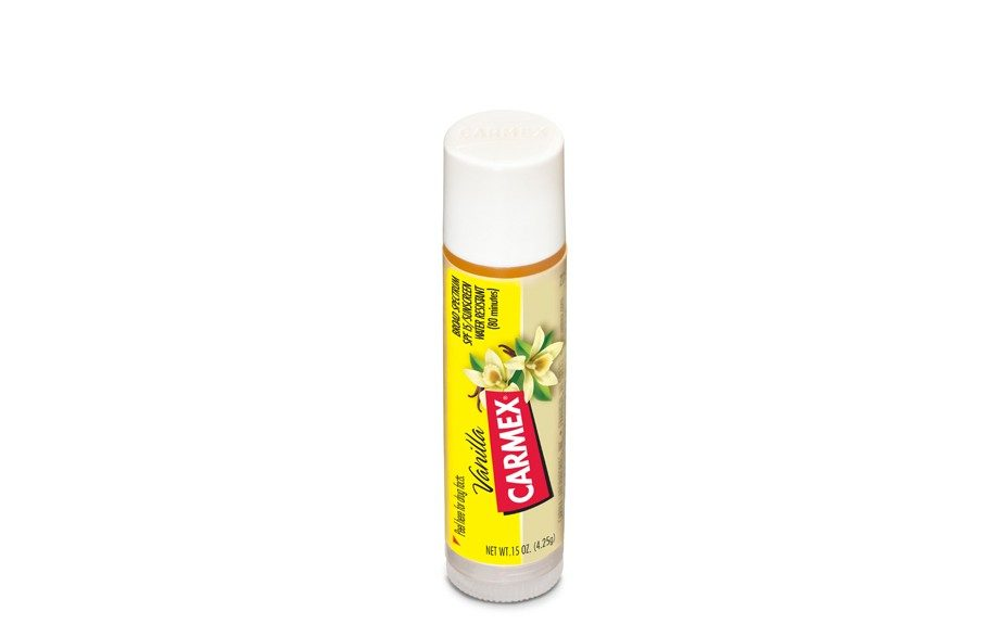 "We're sure you've used Carmex at least once in your life. And it will never fail you! Can't beat that drugstore classic at just $1.35, <a href=""http://www.cvs.com/shop/product-detail/Carmex-Vanilla-Ultra-Moisturizing-Lip-Balm-SPF-15?skuId=855837"">www.cvs.com</a>."