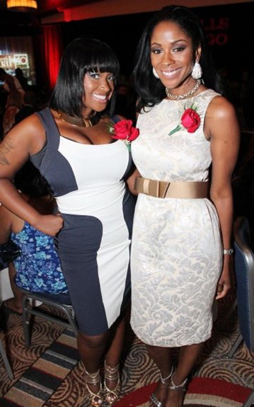 Shante Bacon ( 135th Street Agency, CEO and Founder) and Ericka Pittman (Blue Flame Agency, VP Brand Strategy)