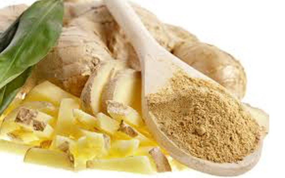 Ginger relieves colds and stomach troubles.