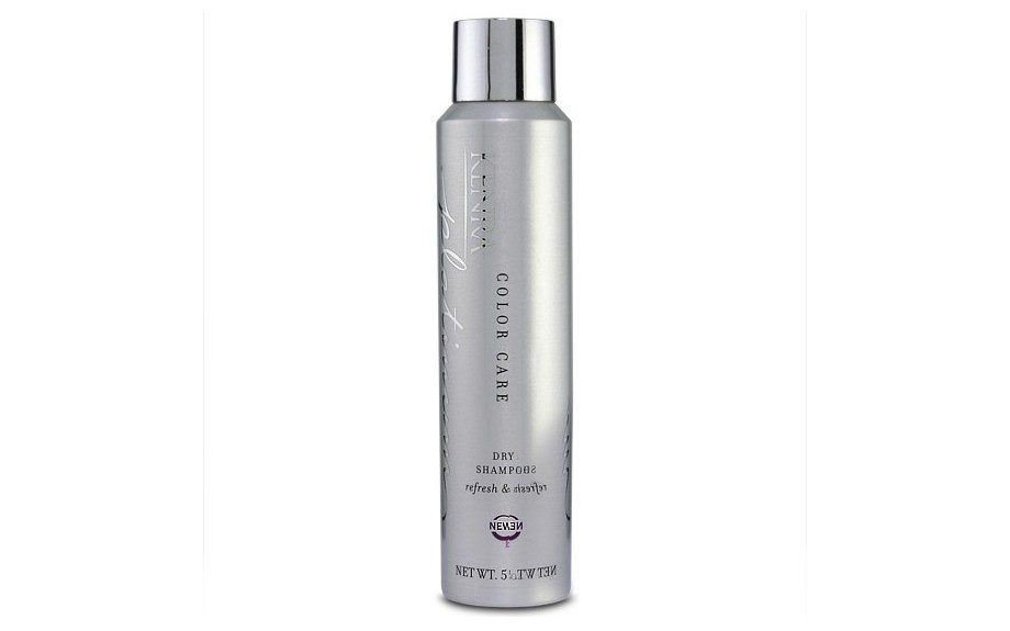 "Kenra Platinum Dry Shampoo cares for color-treated hair to ensure your color doesn't fade as you skip shampoos. $22, <a href=""http://www.kenra.com/ProductDetails.aspx?ID=90"" target=""_blank"">Kenra.com</a>"