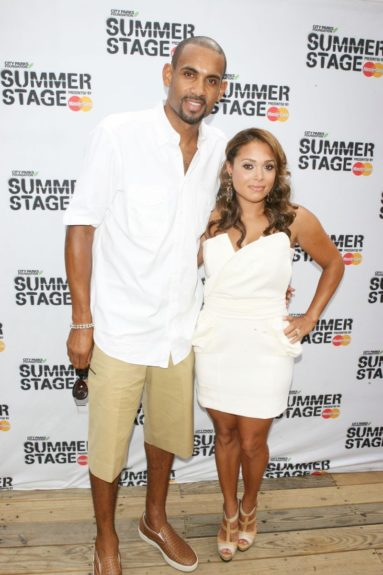 The R&B singer married the retired NBA player in 1999. They have two daughters together.