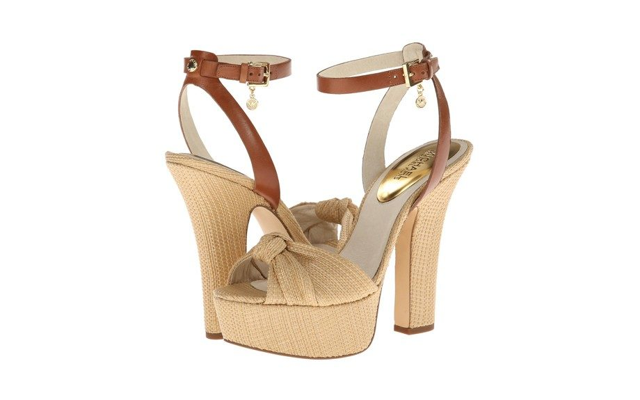 Take these Michael Michael Kors Benji Ankle Strap Sandals on the next yacht you board this summer, $150,