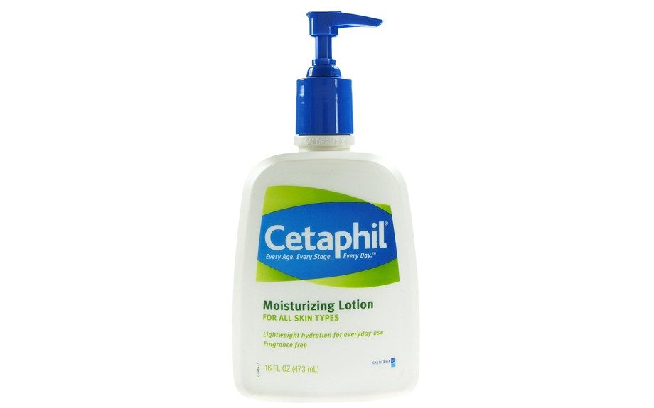 "Opt for a fragrance-free moisturizer such that Cetaphil Moisturizing Lotion that locks in the moisture without irritating even the most sensitive skin. $7.98, <a href=""http://www.target.com/p/cetaphil-moisturizing-lotion-16-oz/-/A-10300852"">www.target.com</a>."