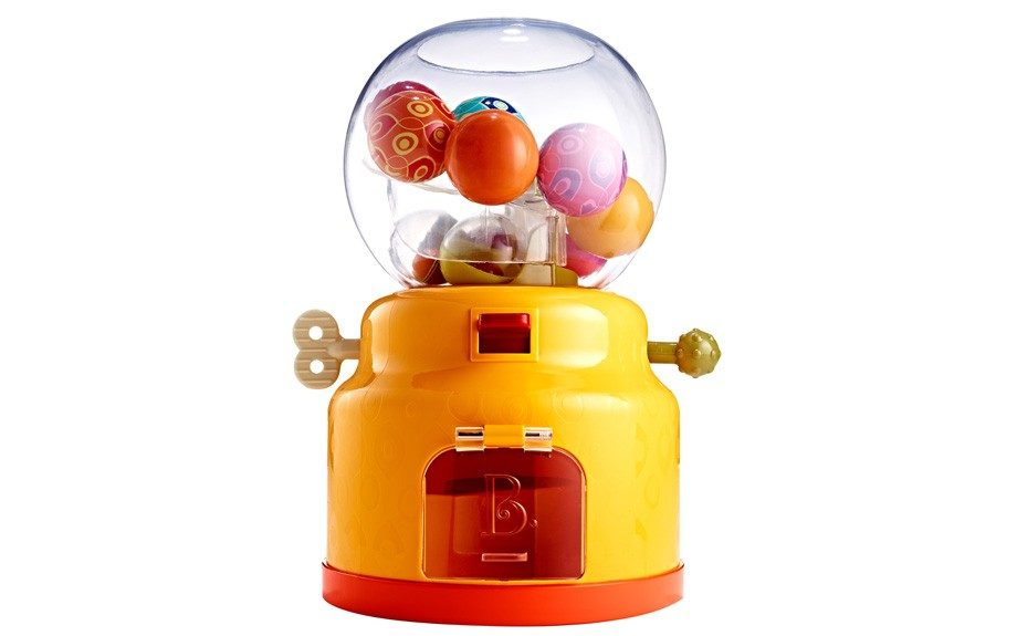 The kid's very own bubble gum machine? Get ready for them to bounce off the walls! ($14.99;TJMaxx)