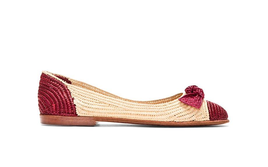 These Marc Jacobs Raffia Flats are also perfect for the beach or any outdoor activity, $188,