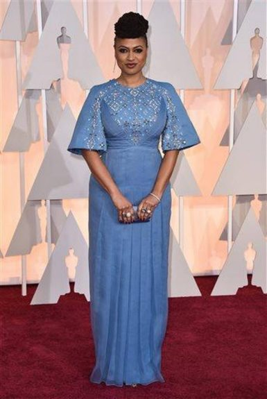 Ava DuVernay, arriving at the87thannual Academy Awards in the DolbyTheatrein Hollywood