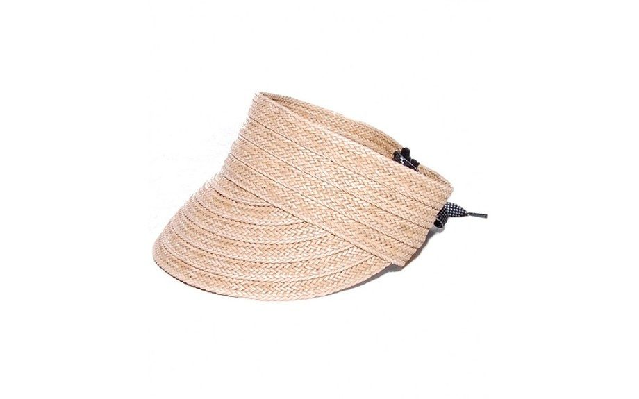 This Rag & Bone Straw Visor is a perfect everyday piece that'll keep the sun out of your face and complement any outfit, $89,