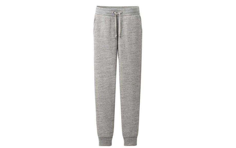 "Baggy sweats are so 2012; upgrade your sweats to a more tailored fit. Try these from <a href=""http://www.uniqlo.com/us/men/bottoms/pants/sweatpants/men-sweat-pants-087340.html#03"" target=""_blank"">Uniqlo</a><strong>.</strong>"