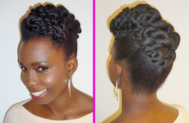 Elevate your two strands with this sexy style. This look can easily go from day to night.