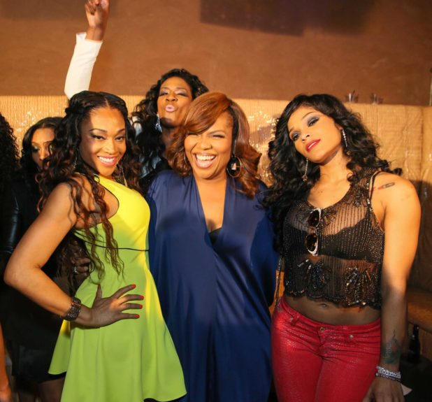 Mimi Faust, Mona Scott-Young and Joseline Hernandez at the sneak preview of the Season 2 premiere episode of VH1's<em>Love & Hip Hop Atlanta</em>.