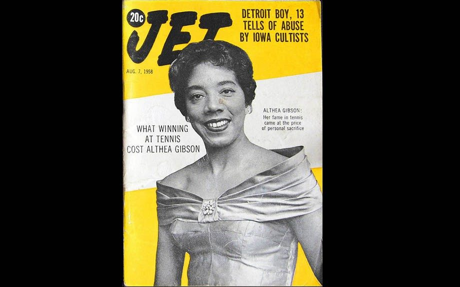 Althea Gibson While Gibson didn't compete in the Olympics, she was the first African American woman to compete in The World Tennis Tour, win the French Open and Wimbledon both in the 50s