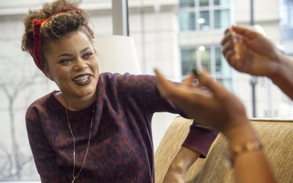 Andra Day Keeps It Real About Her Style