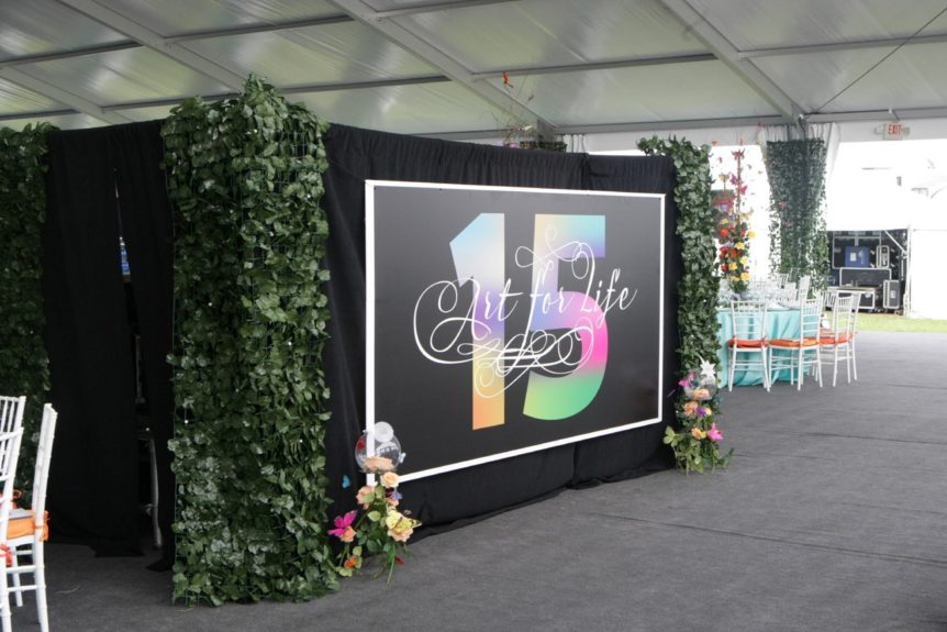 Russell Simmons's 15th annual Art for Life Benefit