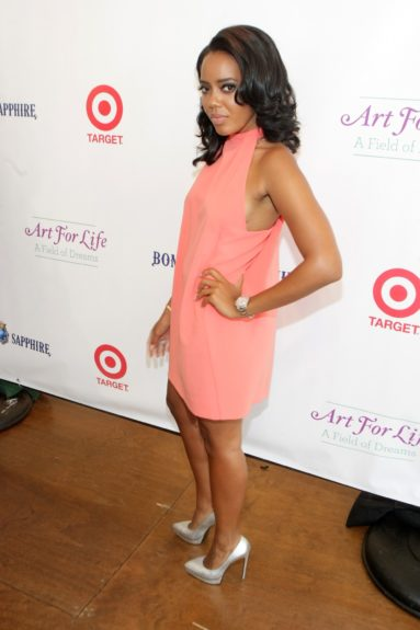 Television Personality Angela Simmons