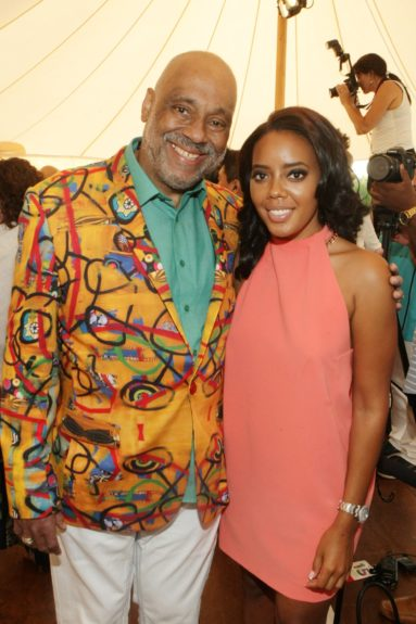 Visual Artist Danny Simmons and Television Personality Angela Simmons