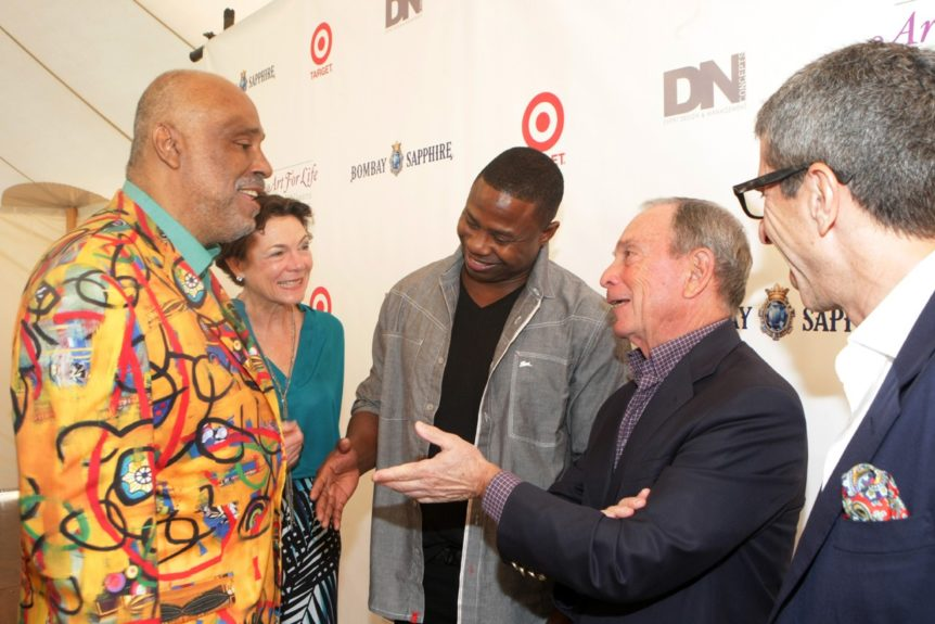 Danny Simmons speaks with Doug E. Fresh and former NYC mayor Michael Bloomberg
