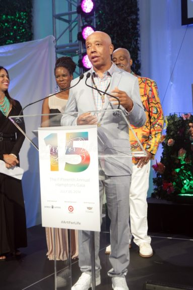 Russell Simmons at Art for Life