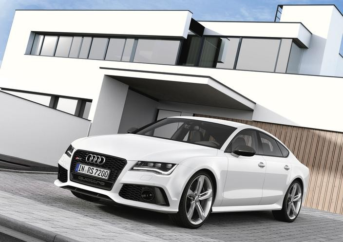 Audi steps up its game with the 2014, with 560-horsepower RS7