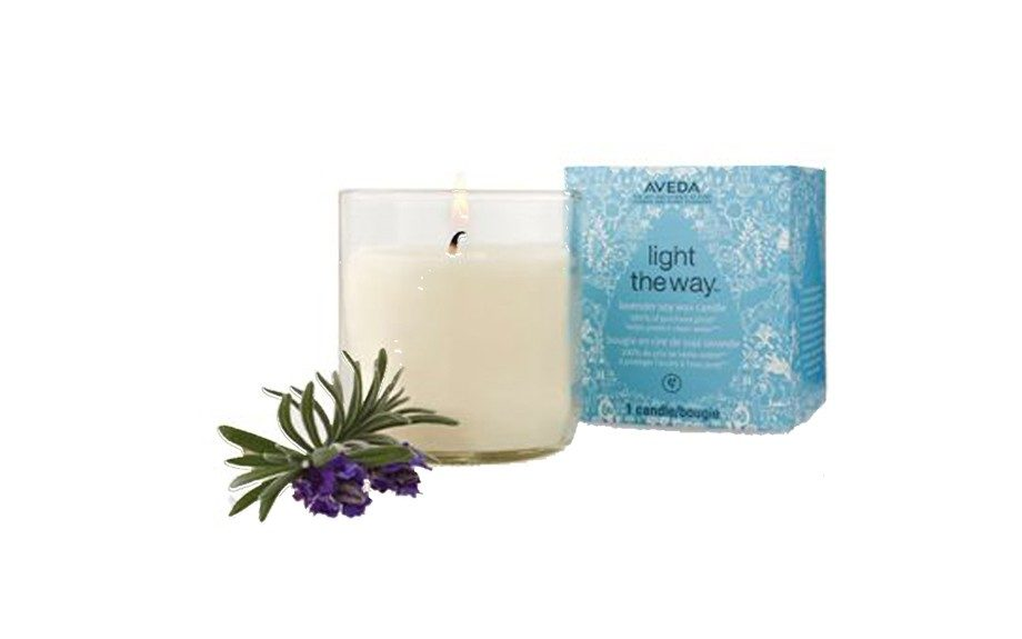 Aveda Light the Way™ Earth Month Candle, $12 at aveda.com