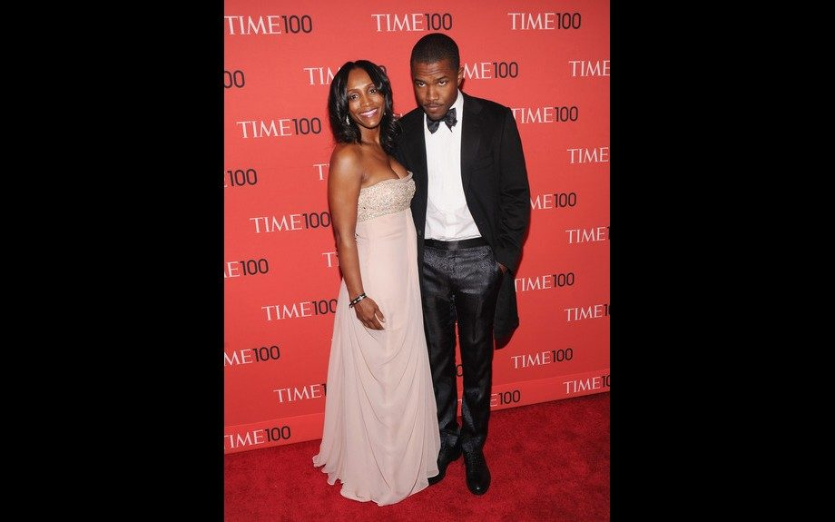 """<span style=""""font-size: 12px;"""">Frank Ocean posed with his beautiful mother </span>Katonya<span style=""""font-size: 12px;""""> </span>Breaux<span style=""""font-size: 12px;""""> Rile at the TIME 100 gala in black satin slacks, a suit jacket and</span>bowtie<span style=""""font-size: 12px;"""">, and crisp&n"""