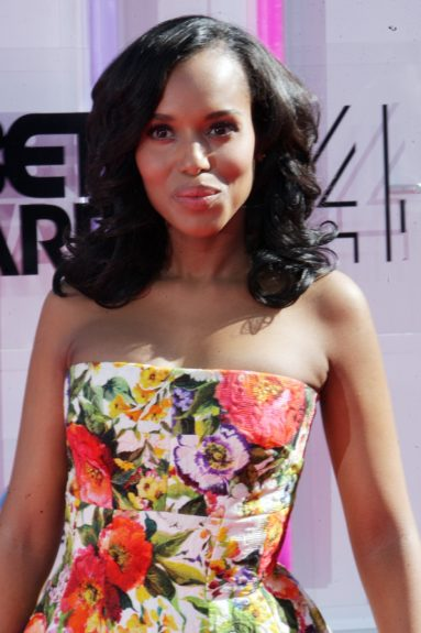 Kerry Washington makes an appearance at the 2014 BET Awards. Photo: Terrence C. Jennings