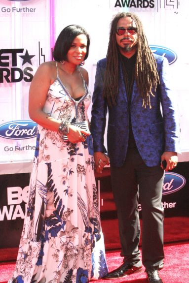 Beverly Bond and Bazaar Royale makes an appearance at the 2014 BET Awards. Photo: Terrence C. Jennings