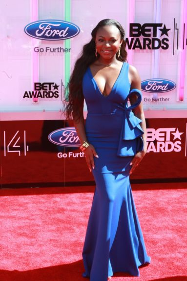 Naturi Naughton makes an appearance at the 2014 BET Awards. Photo: Terrence C. Jennings