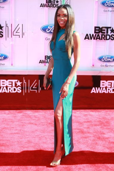 Michelle Williams makes an appearance at the 2014 BET Awards. Photo: Terrence C. Jennings