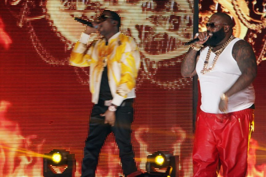 Meek Mill and Rick Ross show 'em how it's done