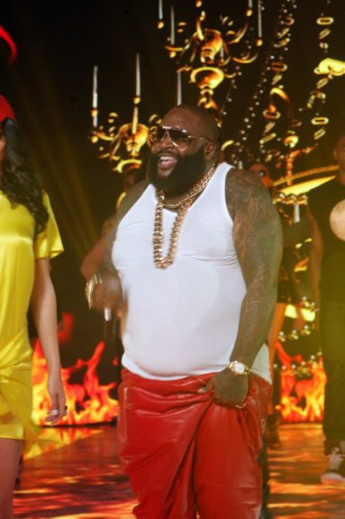 Fashionista Rick Ross brings the bawseness