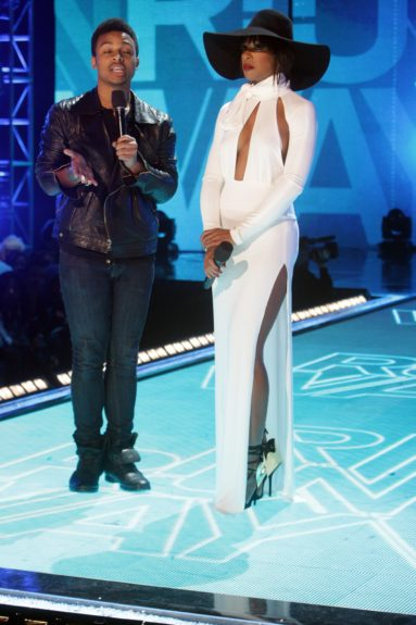 Blogger Willie Green and Kelly Rowland take 'Rip the Runway' to another level
