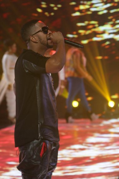 Omarion rips the runway