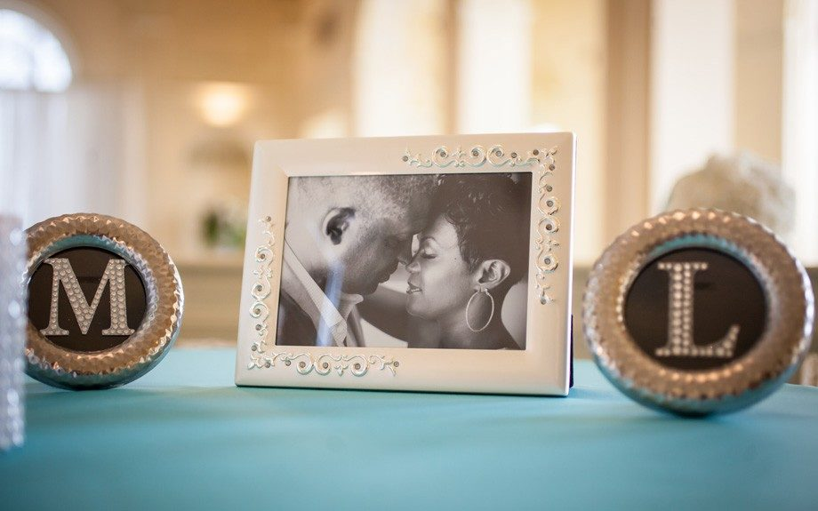 Me and You: Melissa and Leonard's personalized frames