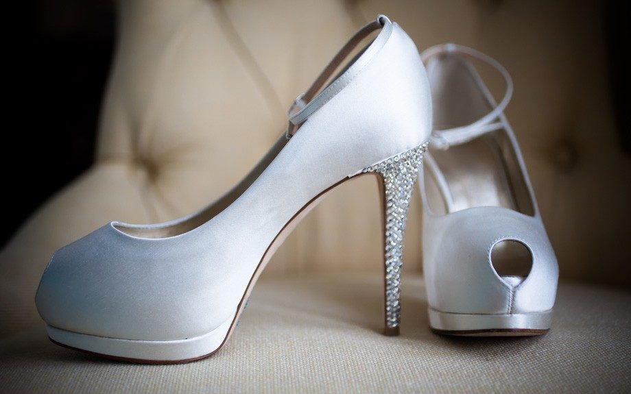 A Little Dazzle: The bride's fabulous shoe of the day