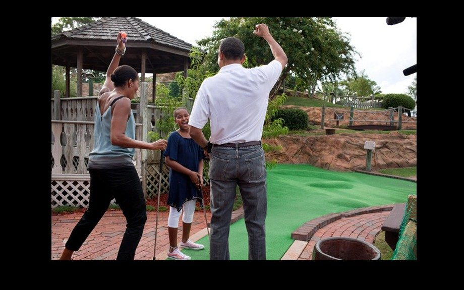 Victories of every size are cause for celebration in the Obama family.