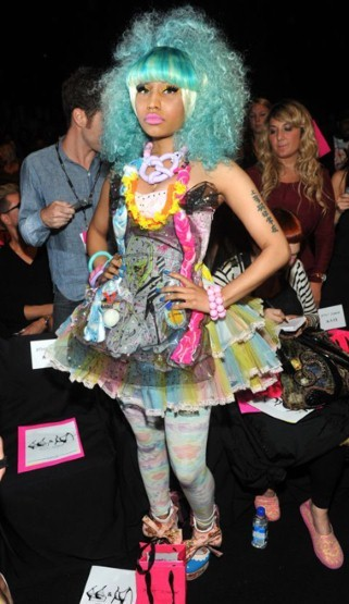 Nick last year at Beasty Johnson's runway show stole all attention with this metropolis of color and fabric
