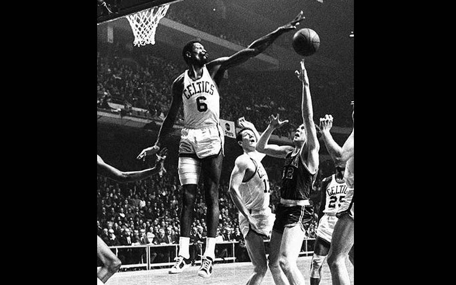 Bill Russell Russell almost didn't participate in the 1956 Olympics when there was controversy over his alleged signing of an NBA contract prior to the Olympics. Still, as captain, he led Team USA to a gold medal in Australia